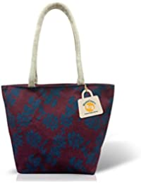 Handcraft Multi Jute Shoulder Bag, High Quality Printing Design. Fancy, Designer Bag For Women Affordable Price.