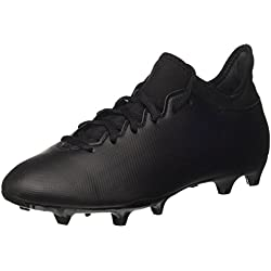 adidas X 73 FG, Scarpe da Calcio Uomo, Nero (Core Black/Core Black/Utility Black), 44 EU