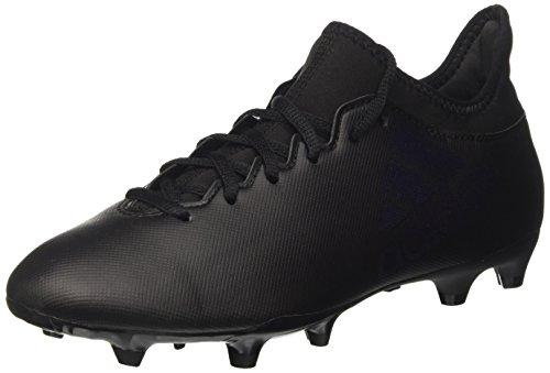 adidas Herren X 17.3 FG Fußballschuhe, Schwarz (Core Black), 43 1/3 EU