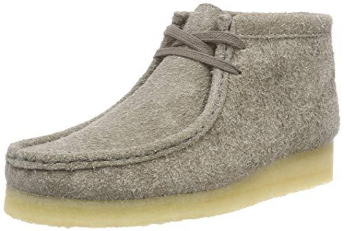 Clarks Originals Damen Wallabee Boot Stiefeletten, Grau (Grey Interest), 39.5 EU (Frauen Wallabee-schuhe)