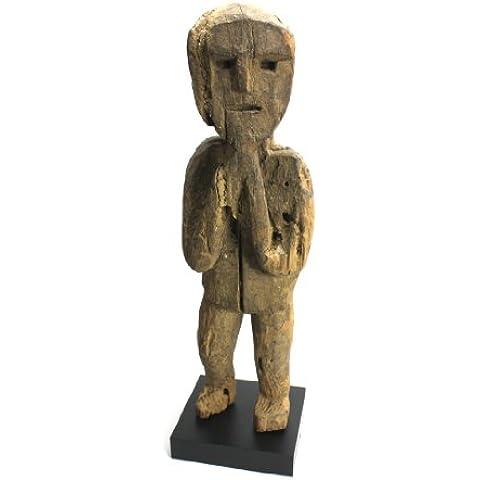 Lanna Antico Antico nepalese Ancestor figura, West Nepal - Bronzo Antico Di Figure