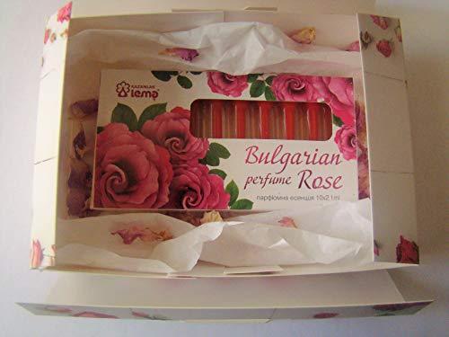 Bulgarian Rose Parfüm Aroma 10 Ampullen x 2.1 ml Souvenir und Geschenk