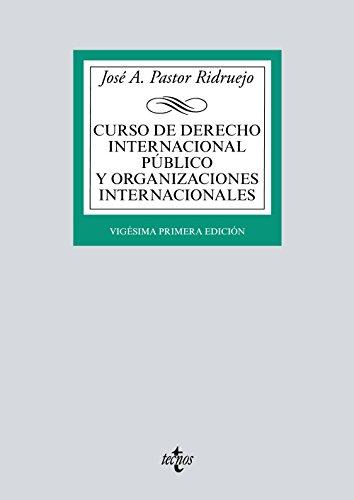 Descargar CURSO DE DERECHO INTERNACIONAL PUBLICO Y ORGANIZACIONES INTERNACIONALES (21ª ED )