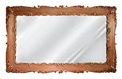 Hickory Manor Decorative Rectangle Mirror, Bronze