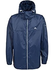 Trespass Kids Packup Packaway chaqueta, Infantil, Packup, azul marino