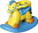 Toyshine ABS Plastic Kid's 2 in 1 Marshal Horse Rocker Cum Ride-on Rocking