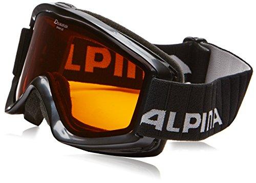 Alpina Unisex - Erwachsene Skibrille Smash 2.0 DH, Rahmenfarbe: Black, Linsenfarbe: Dlh S2, One size, 7075133