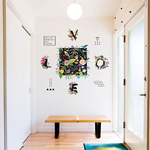 HAOWANGJIAO Wandtattoo Fräulein die Saison Wandbilder Home Decor DIY Abnehmbare Für Schlafzimmer Wohnzimmer Sofa Hintergrund