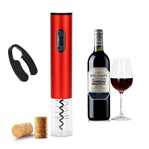 Sacacorchos Electrico Abrelatas Electrico Profesional Abridor de Botellas de Vino...