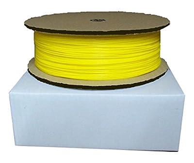 """ABS 1,75mm 1kg, SmartPrint-Filament """"ECO"""" für 3D-Drucker/Printer auf Spule, Farbe: Gelb"""