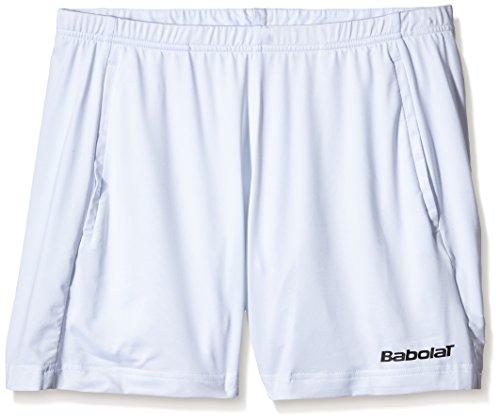 Babolat short pour match core Blanc - Blanc