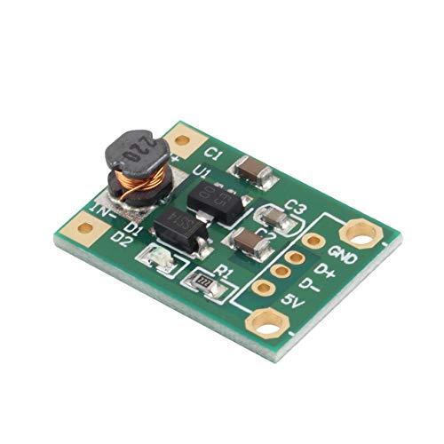 VCB Module élévateur convertisseur élévateur de Tension continu-continu Module d'alimentation 1-5V à 5V 500mA Nouveau - Vert