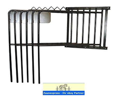 Reitsport Amesbichler AMKA Pferde Deckenhalter, 6 armig, schwenkbar, schwarz| Pferde Deckenhalterung sechsarmig - Halterung für Pferdedecken