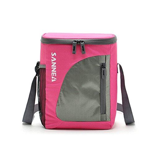 HYSENM 8,8L Isoliertasche Kühltasche Thermotasche für Babynahrung Picknick Camping Outdoor, Rosa