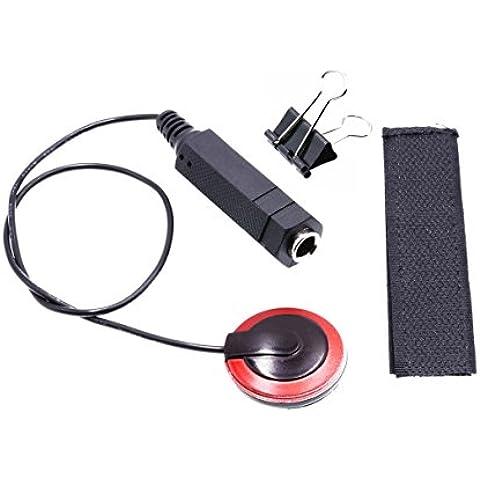 Pastilla de guitarra acústica de sonido amplificación, transductor de micrófono altavoz del amplificador del alambre