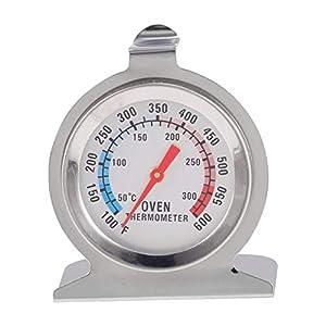 Triamisus Edelstahl Lebensmittel Fleisch Temperatur Klassische Stand Up Dial Backofenthermometer Manometer Gage Herd Thermometer