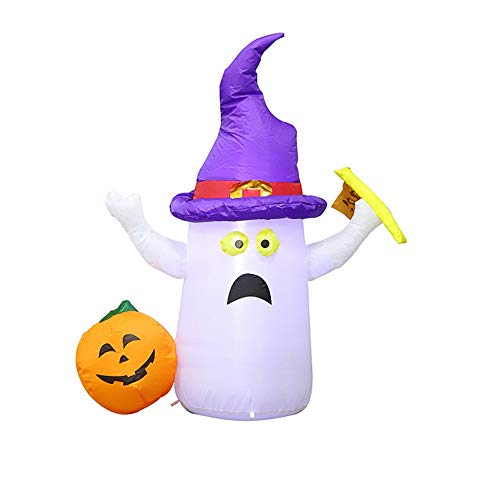 Clearance Halloween Inflatables - Halloween 3 FT Inflatable Geist Mit
