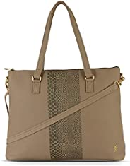 Baggit Women's Synthetic Tote Bag (Be