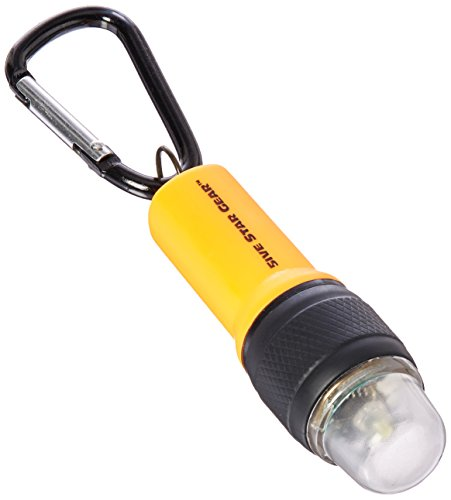 5ive Star Gear Emergency SOS Light Keychain, Orange by 5ive Star Gear