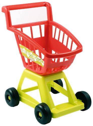 Jouets Ecoiffier - 1226 - Chariot de supermarché vide pour enfants 100 % Chef - Jeu d'imitation - Dès 18 mois - Fabriqué en France