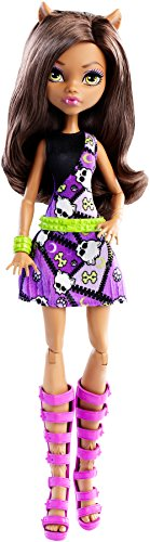 Monster High Mattel DNW89 - Clawdeen, Ankleidepuppen