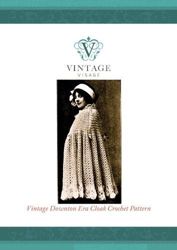 How to make a Downton abbey era wedding or evening cloak-crochet pattern (English Edition)
