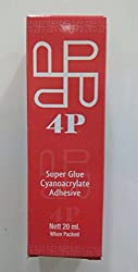4p Super Glue, 20 ml, 1 No