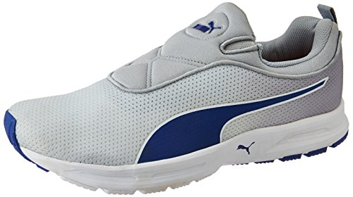 Puma Men's Ef Cushion Slipon Fade Dp Quarry, Gray Violet and Surf The Web Running Shoes - 9 UK/India (43 EU)