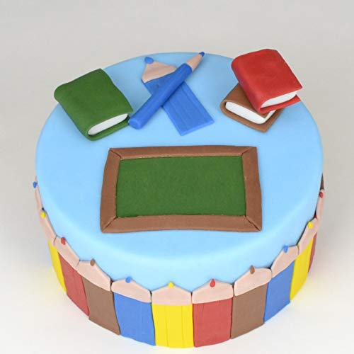 Einschulungs-Torte Jungen Backbox - mit Zutaten, Zubehör und Rezept