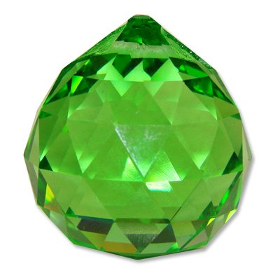 40 mm, Grün, Feng Shui, Glaskristall, GARTEN- Und Rasenzubehör, Versorgung Und Instandhaltung