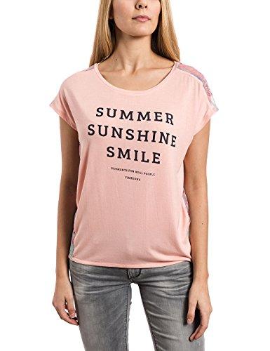 Timezone Oversize T-shirt - T-shirt - Femme Orange - Orange (blush apricot 5062)