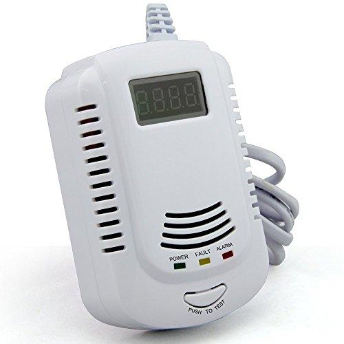 GASALARM Gaswarner Gasmelder Gaswarngerät 12V 230V Volt Alarmanlage Gasdetektor