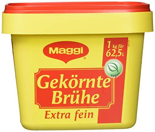 Maggi Gekörnte Brühe Extra fein, 1er Pack (1 x 1 kg Profi Box)