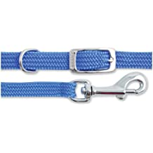 Softweave Small Bite collar & Lead Set Blue
