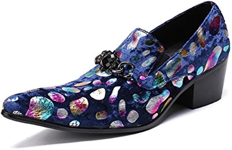 CAI Novedad de los Hombres en Punta/Mocasines Primavera/Otoño / Invierno Zapatos de Cuero para Hombre/Transpirable  -