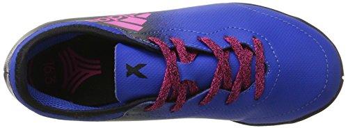 adidas Jungen X Tango 16.3 in J Fußballschuhe Blau (Blue/shock Pink/core Black)