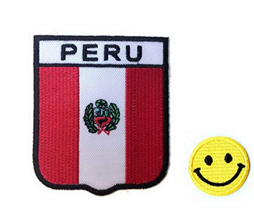 De Perú apliques hierro bordado parches PATCH CUBE