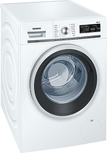 WM16W541 iQ700 Waschmaschine FL / A+++ / 196 kWh/Jahr / 1551 UpM / 8 kg / 10560 L/Jahr / Weiß / Antiflecken-System