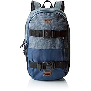 41AuZlQteXL. SS300  - BILLABONG Command Skate Pack Mochila Tipo Casual, 18 cm, 23 litros, Dark Slate Htr Azul