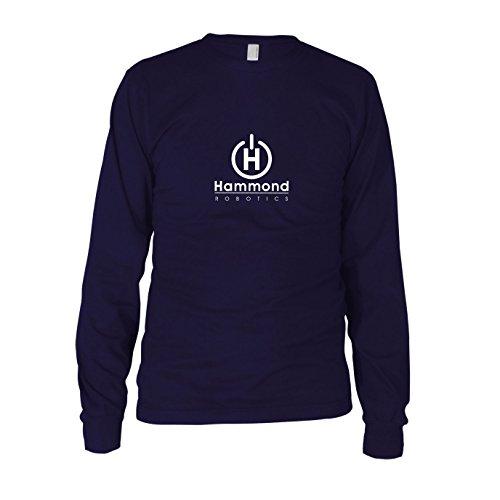 Hammond Robotics - Herren Langarm T-Shirt Dunkelblau