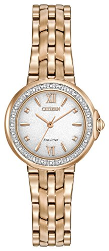 Citizen Watch Women's Analogue Solar Powered Stainless Steel Strap EM0443-59A