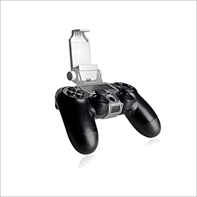 WHITE PS4 Smart Clip - Mobile Phone Holder Clamp for Playstation 4 Gamepad Controller