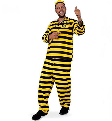 Sträfling Erwachsenen Kostüme Online Kaufen