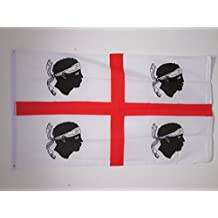 BANDIERA SARDEGNA 150x90cm - BANDIERA SARDA - ITALIA 90 x 150 cm - AZ FLAG