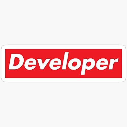 Developer Supreme Aufkleber, 3 Stück