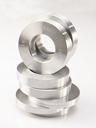 Maxxus® Frictional Plate Scheiben Set für Kraftgeräte, Hantelstangen und 50mm Hantelscheibenaufnahmen