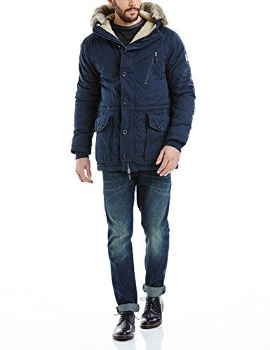 Bench Herren BREATH Jacke, Blau (Dark Navy Blue NY031), Medium Limited Snowboard-jacke