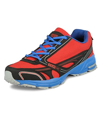 Yepme Men's Red Mesh Sports Shoes