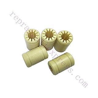 BHPSU 5PCS Reprap Prusa Medel 3D-Drucker Solides Polymer Lm8uu Linear Lager 8 mm Schaft Rjmp-01-08 R Solide Kunststoff Rjmp-Buchse