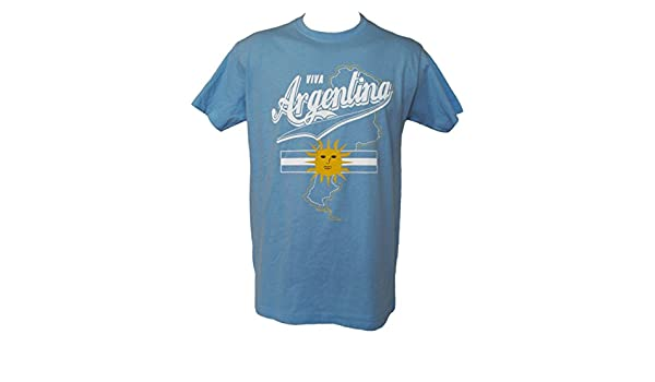 Taille Adulte Homme A chacun son Pays T-Shirt Argentine Football Supporter Argentina